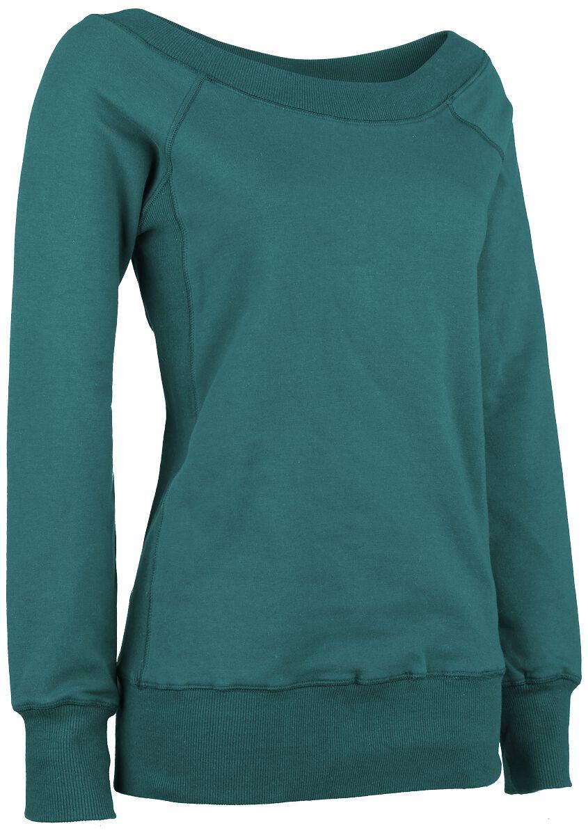 Image of   Forplay Sweater Girlie sweatshirt petrol