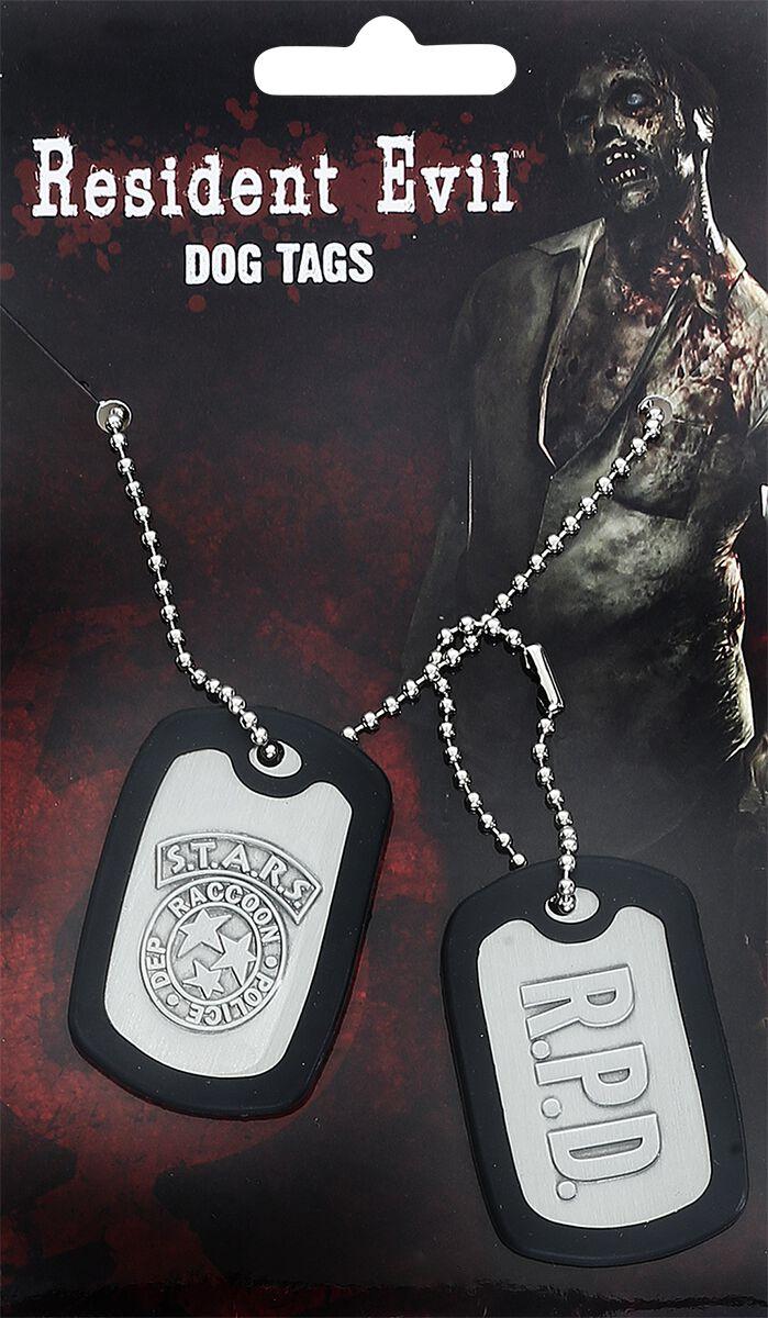 Merch dla Fanów - Wisiorki - Nieśmiertelnik Resident Evil Stars Nieśmiertelnik stalowy matowy - 335293