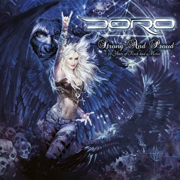 Doro Strong and proud CD Standard