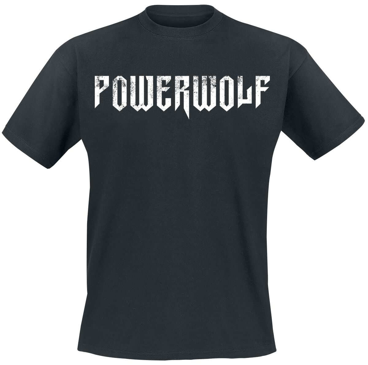 Image of   Powerwolf Logo T-Shirt sort