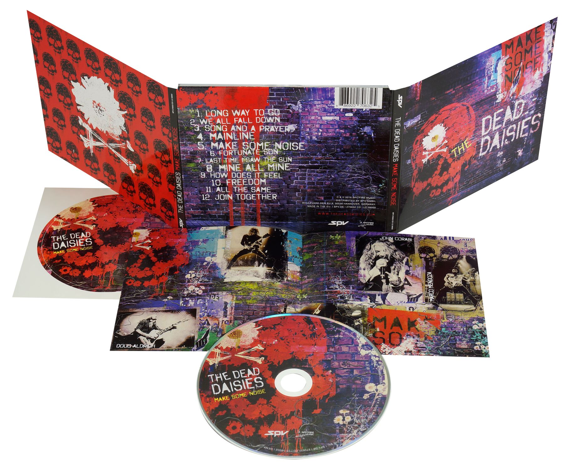 The Dead Daisies Make some noise CD Standard