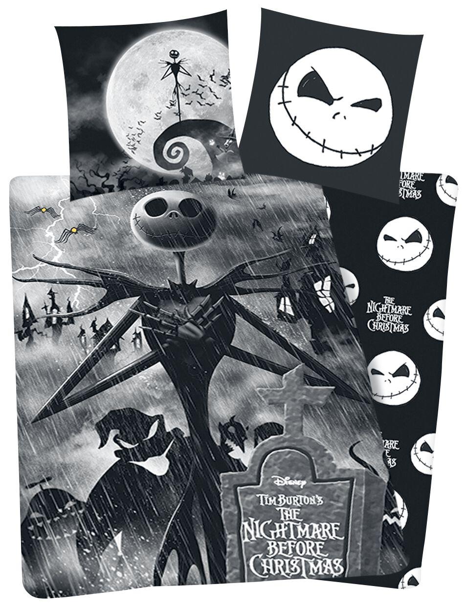 Image of   The Nightmare Before Christmas Jack Sengesæt sort