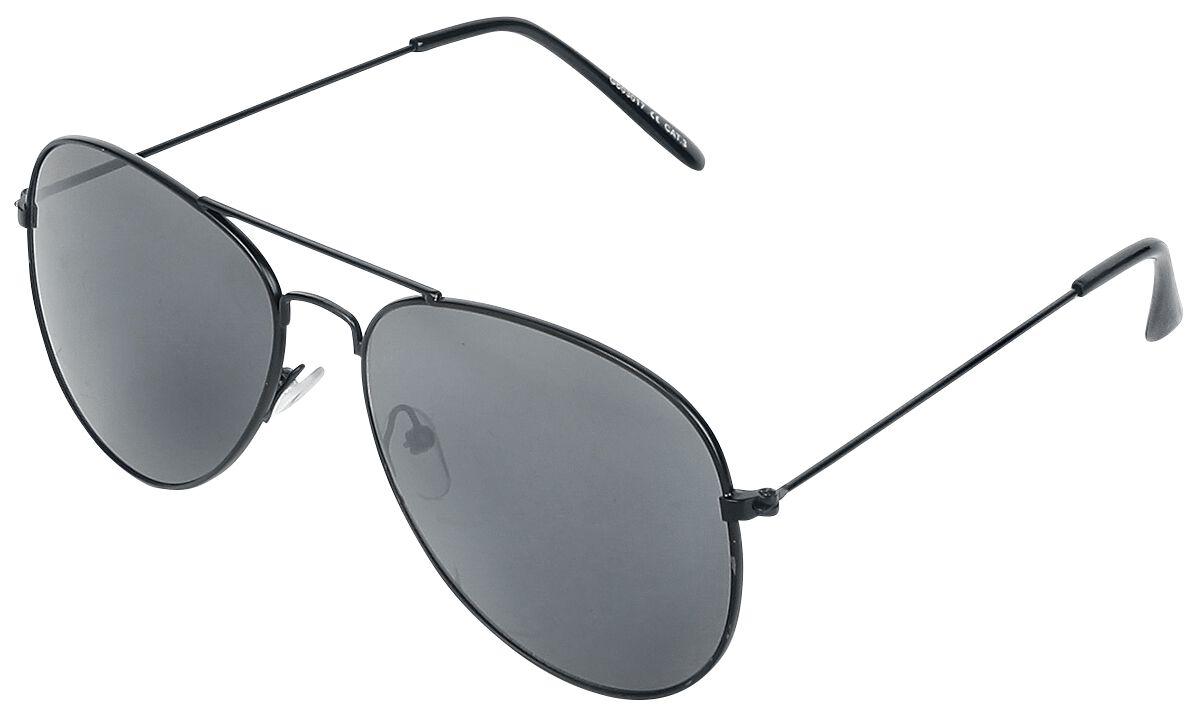 Sonnenbrillen für Frauen - Matt Pilot Sonnenbrille mattschwarz  - Onlineshop EMP