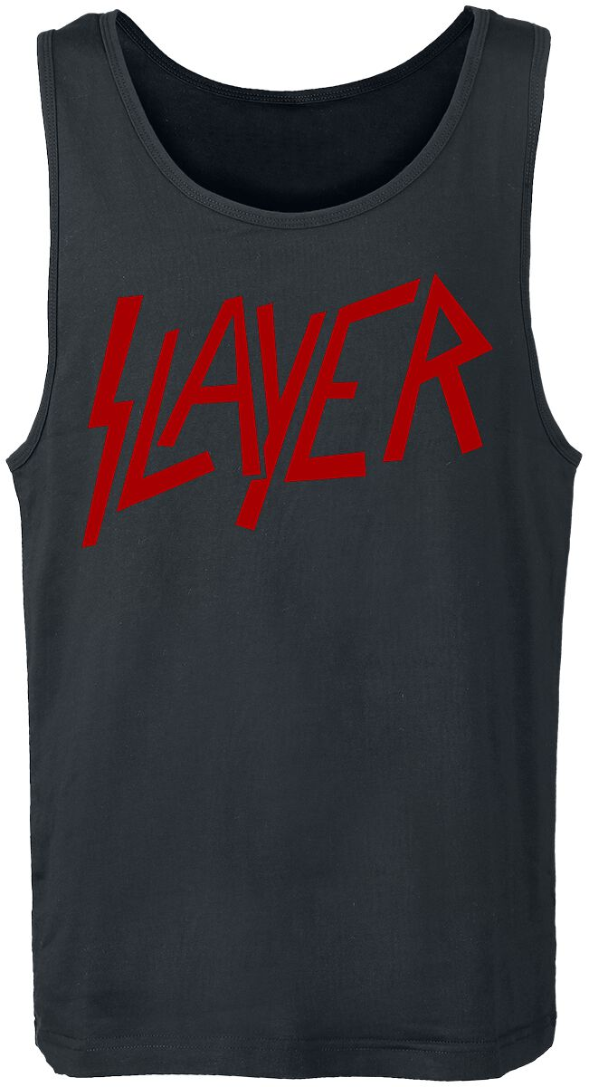 Image of   Slayer Logo Tanktop sort