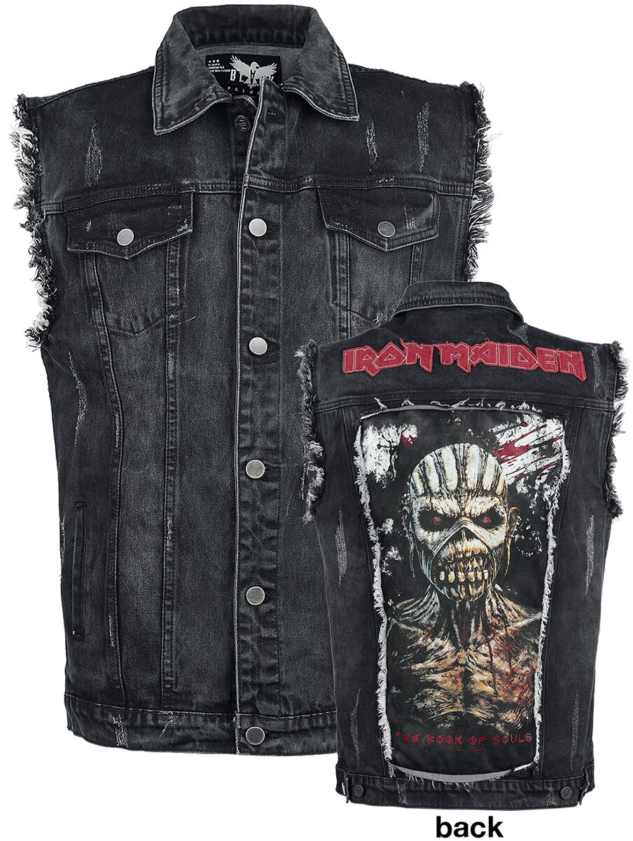 Image of   Iron Maiden EMP Signature Collection Vest sort