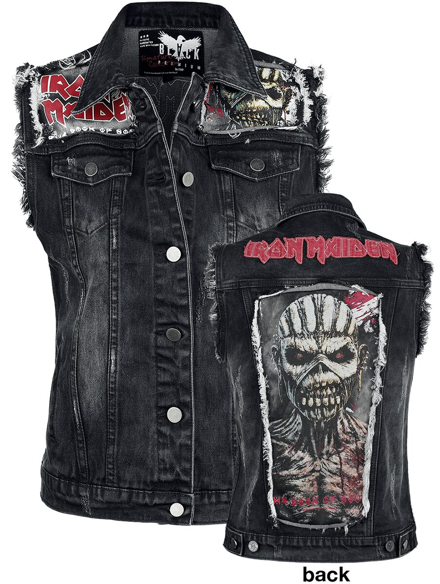 Image of   Iron Maiden EMP Signature Collection Girlie vest sort