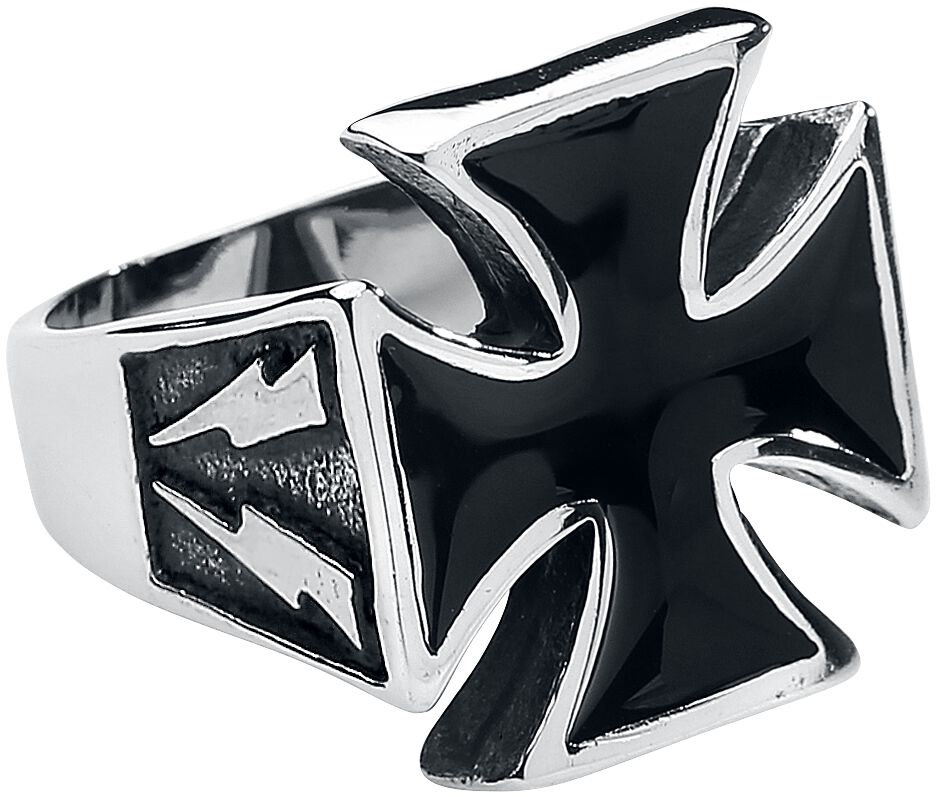 Image of   Wildcat Iron Cross Ring Standard