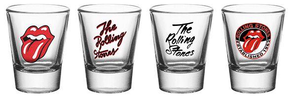 Image of   The Rolling Stones Mix Shotglas, sæt Standard
