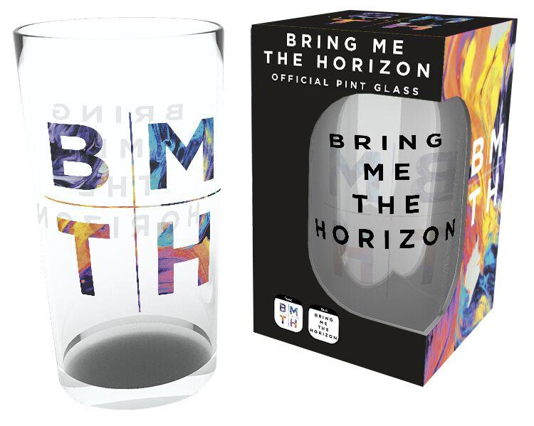 Image of   Bring Me The Horizon Logo Ølglas Standard