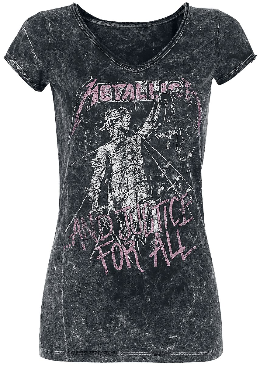 Image of   Metallica ...And Justice For All Girlie trøje sort