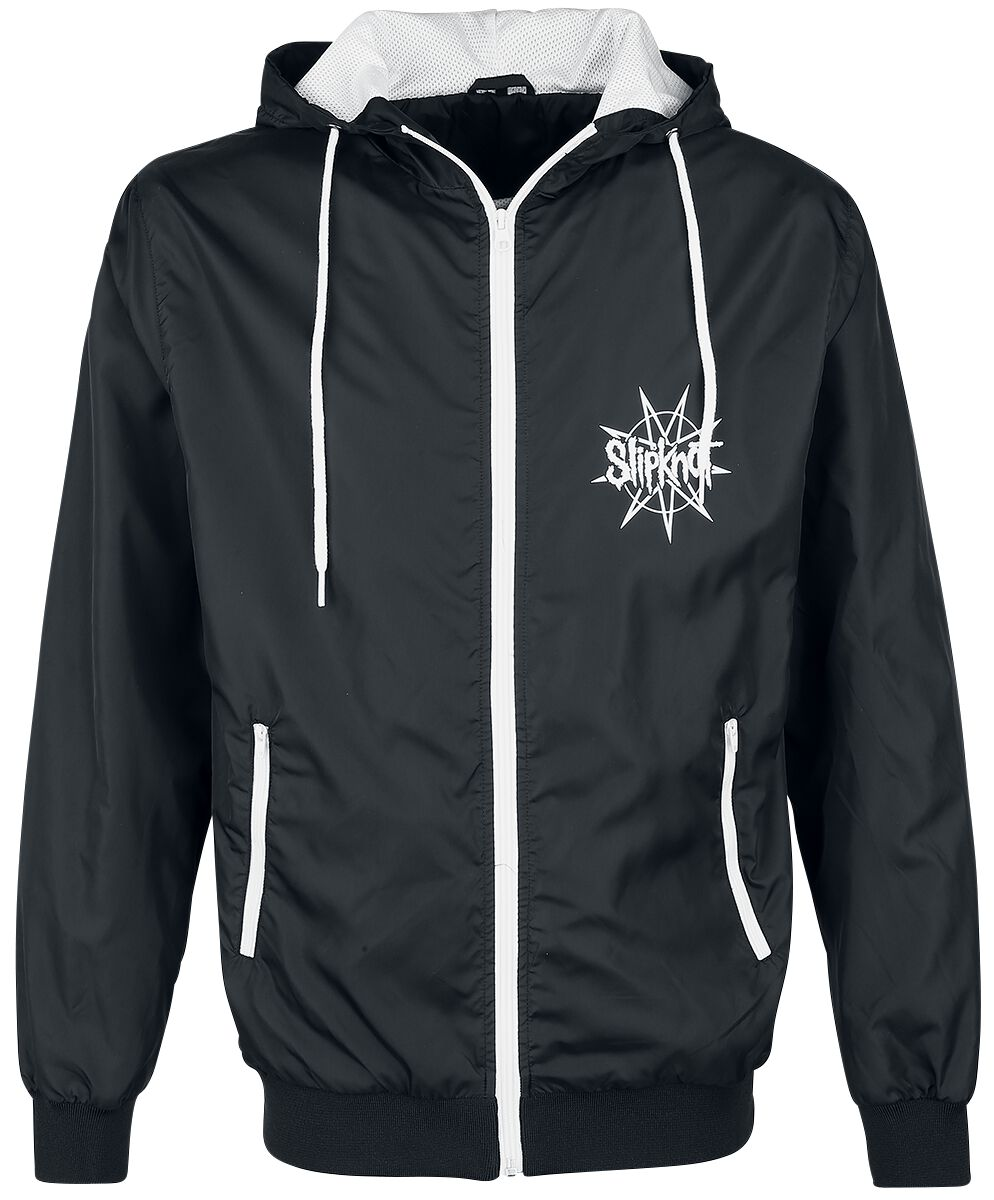 Image of   Slipknot Goat Star Windbreaker sort