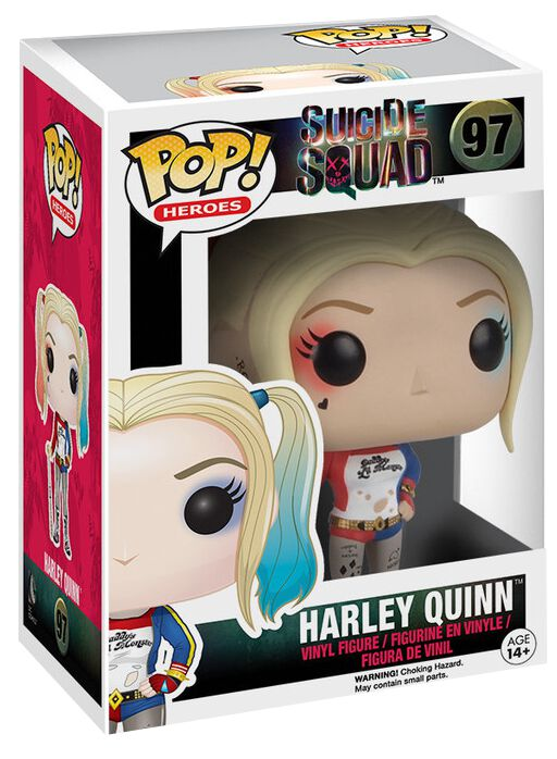 Image of   Suicide Squad Harley Quinn Vinyl Figure 97 Samlefigur Standard