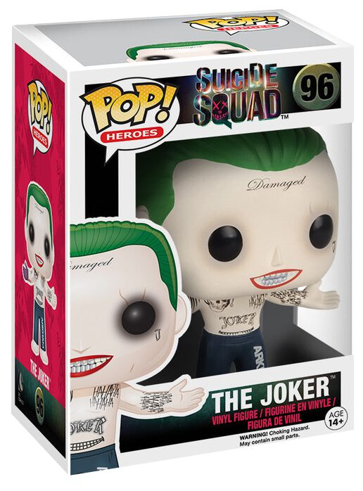 Image of   Suicide Squad The Joker (Shirtless) Vinyl Figure 96 Samlefigur Standard