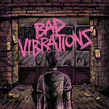 Image of A Day To Remember Bad vibrations CD Standard