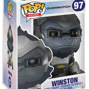Figurine Pop! Overwatch Winston 15 cm