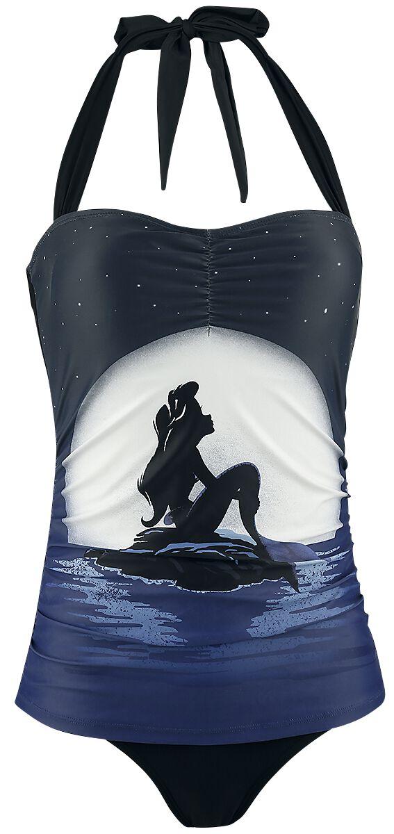 Merch dla Fanów - Odzież kąpielowa - Kostium kąpielowy Ariel - Mała Syrenka Moonshine Kostium kąpielowy wielokolorowy - 336407