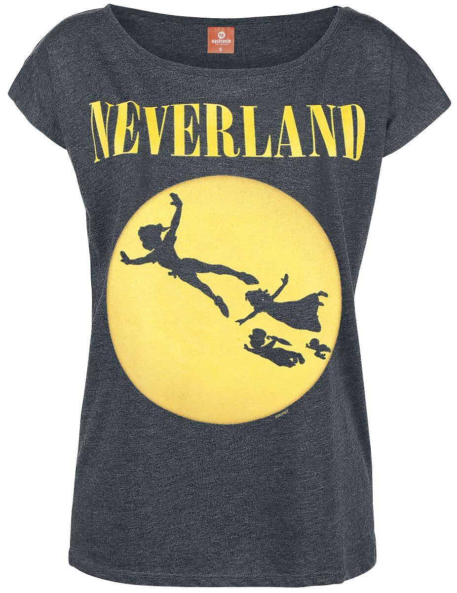 Piotruś Pan Neverland Seattle Koszulka damska odcienie ciemnoszarego