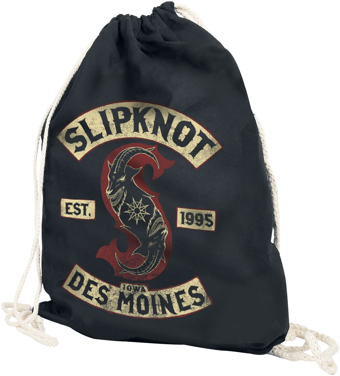 Image of   Slipknot Patched Up Gymnastiktaske sort