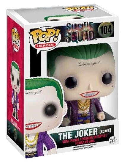 Image of   Suicide Squad The Joker (Boxer) Vinyl Figure 104 Samlefigur Standard