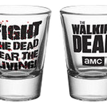 The Walking Dead Symbols Set verres à shots transparent