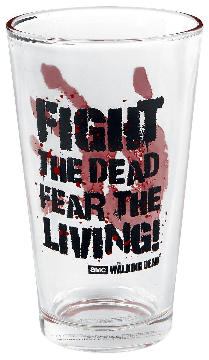 Image of   The Walking Dead Fight The Dead Ølglas Standard