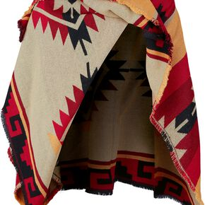 The Walking Dead Daryl Dixon Poncho Poncho multicolore