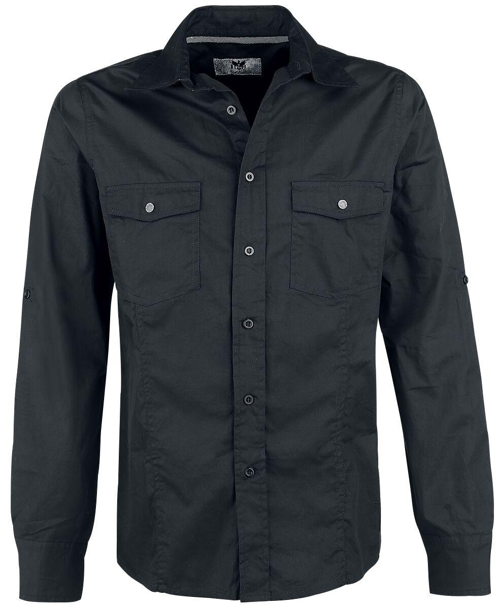 Image of   Black Premium by EMP Basic Shirt Skjorte sort