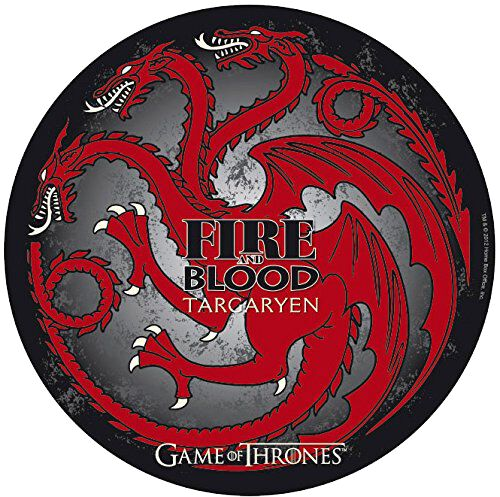 Image of   Game Of Thrones House Targaryen Musemåtte Standard