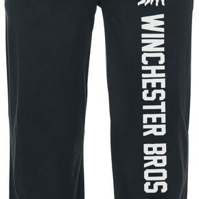 Supernatural Winchester Bros Bas de pyjama noir