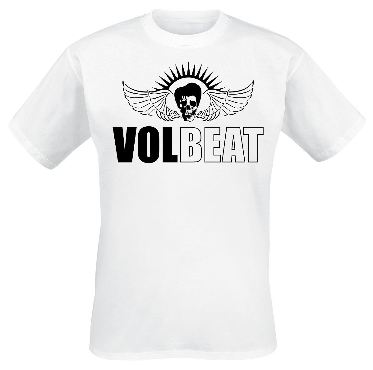 Volbeat - Classic Logo - T-Shirt - white image