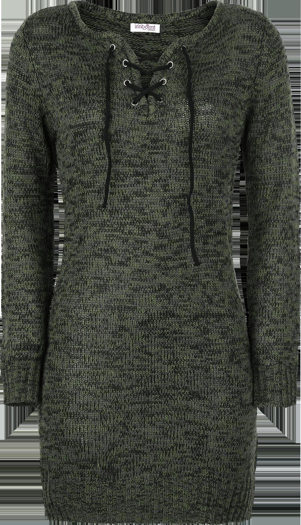 Innocent Lana Top Sweter damski oliwkowy