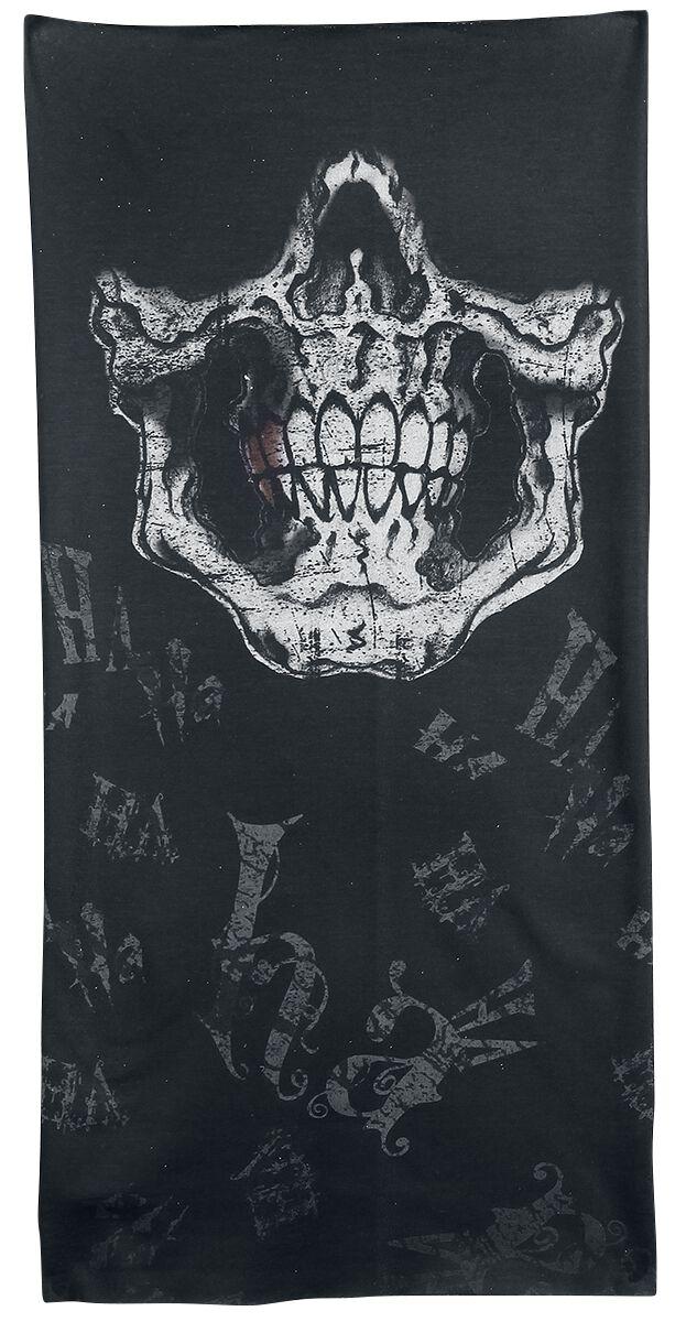 Image of   Alchemy England Raw Deal Rundt halstørklæde sort-grå