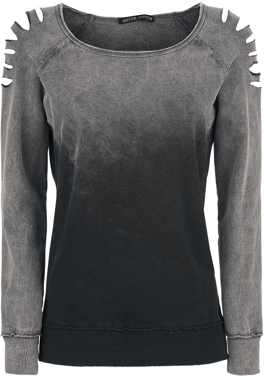 Image of   Outer Vision Gills Girlie sweatshirt grå