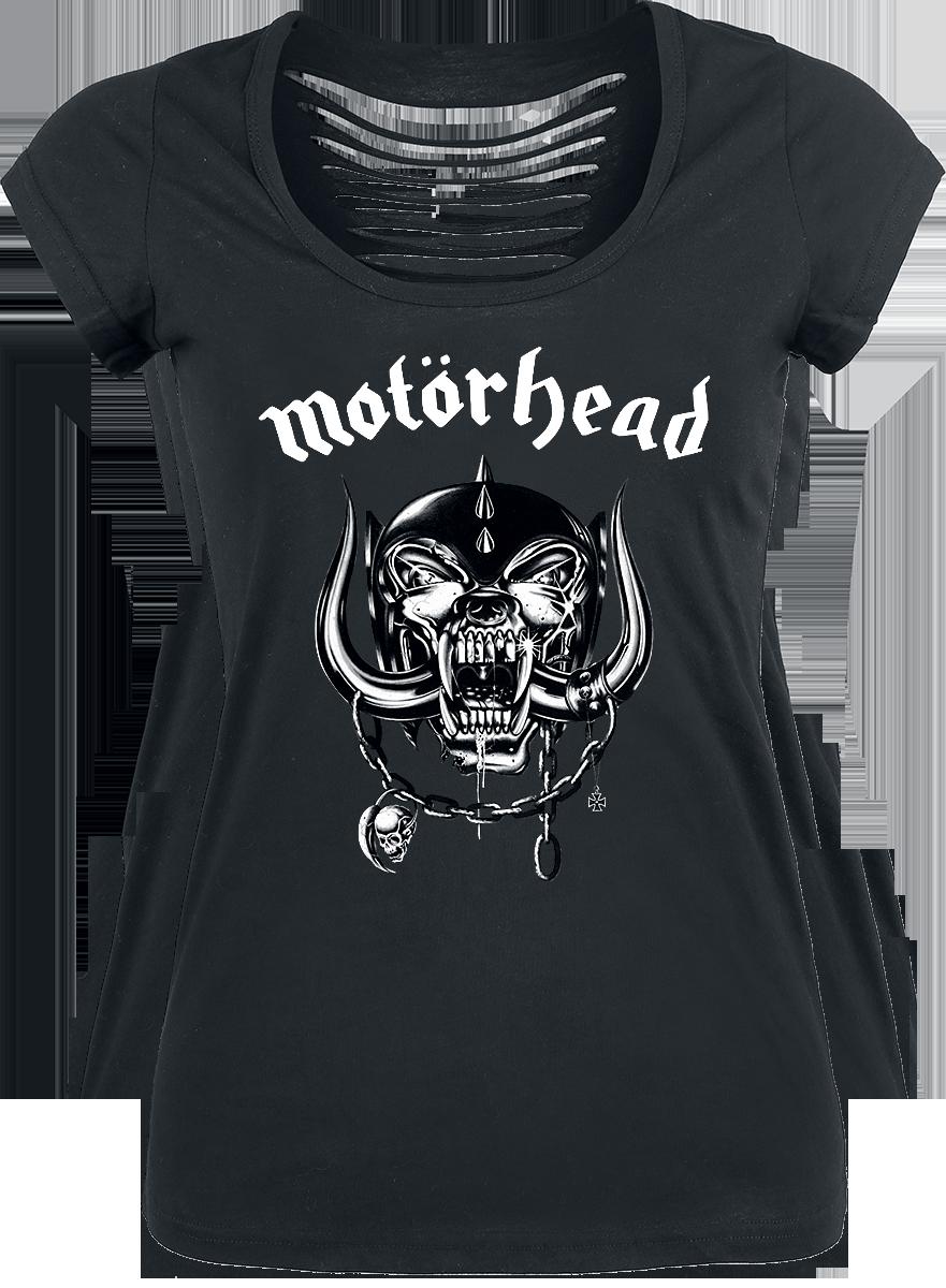 Motörhead Logo Koszulka damska czarny