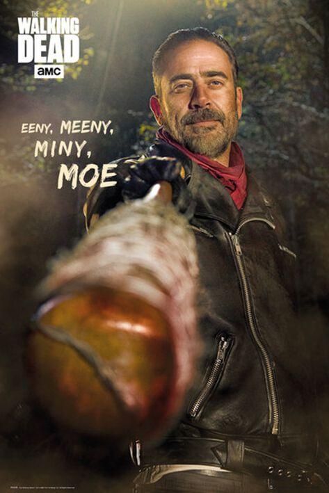 Image of   The Walking Dead Negan Plakat standard