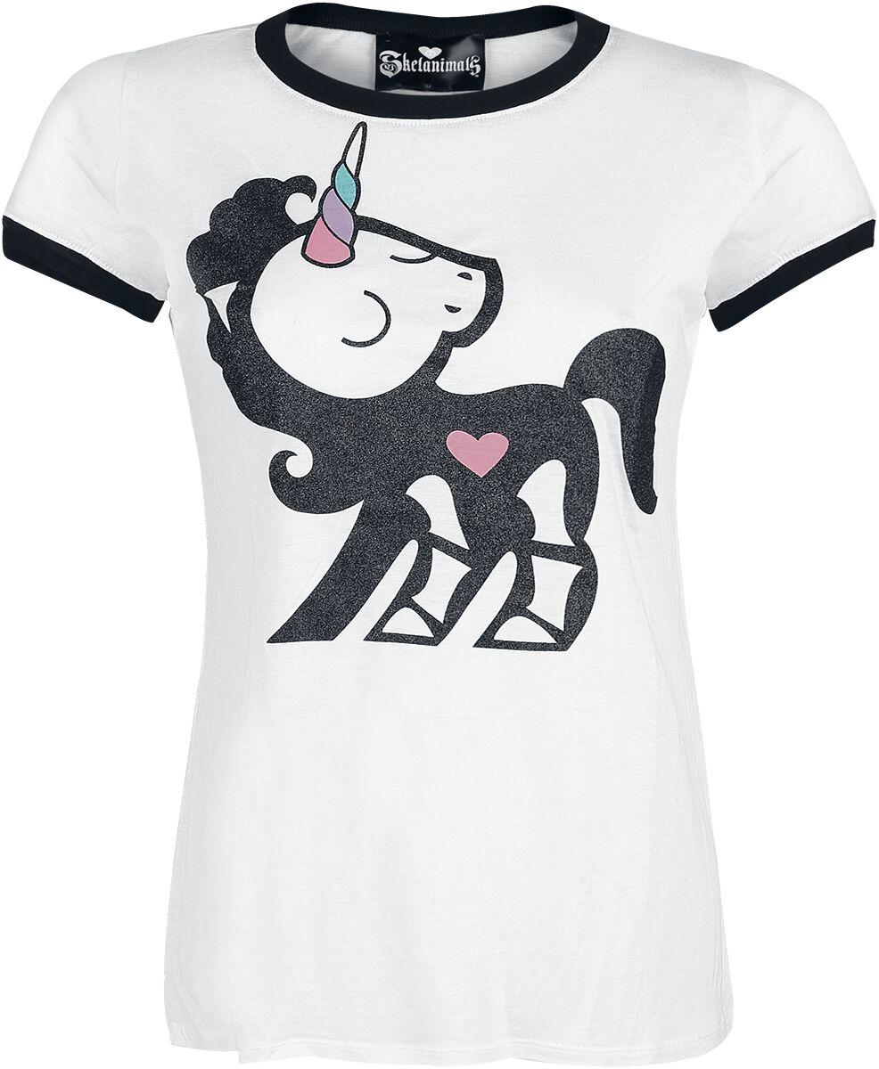 Merch dla Fanów - Koszulki - Koszulka damska Skelanimals Bonita Koszulka damska biały - 337706