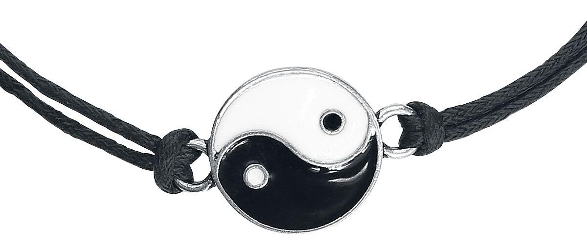Image of   Blackheart Yin Yang Choker Halskæde Standard