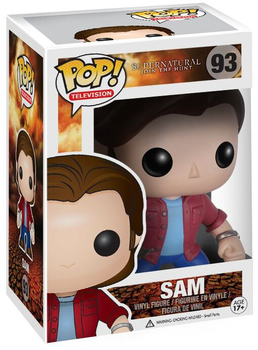 Image of   Supernatural Sam Vinyl Figures 93 Samlefigur Standard