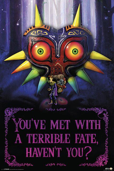 Image of   The Legend Of Zelda Terrible Fate Plakat Standard