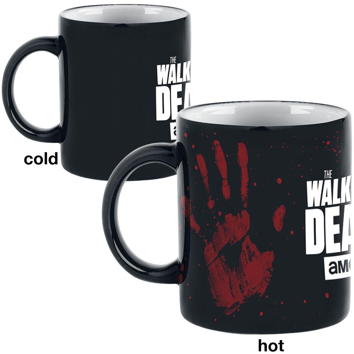 Image of   The Walking Dead Hand - Heat Change Mug Krus multifarvet
