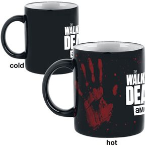 The Walking Dead Mug Thermoréactif - Hand Mug multicolore