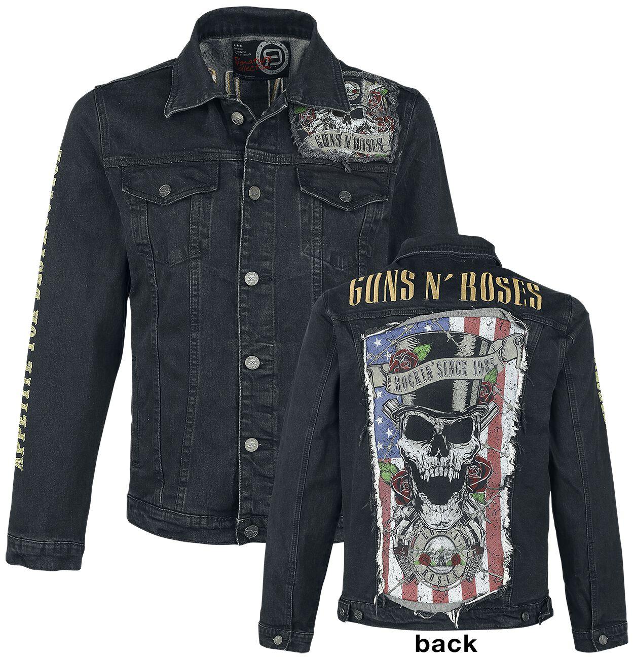 Image of   Guns N' Roses EMP Signature Collection Jakke sort