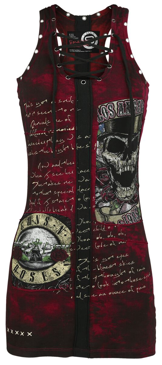 Image of   Guns N' Roses EMP Signature Collection Kjole rød