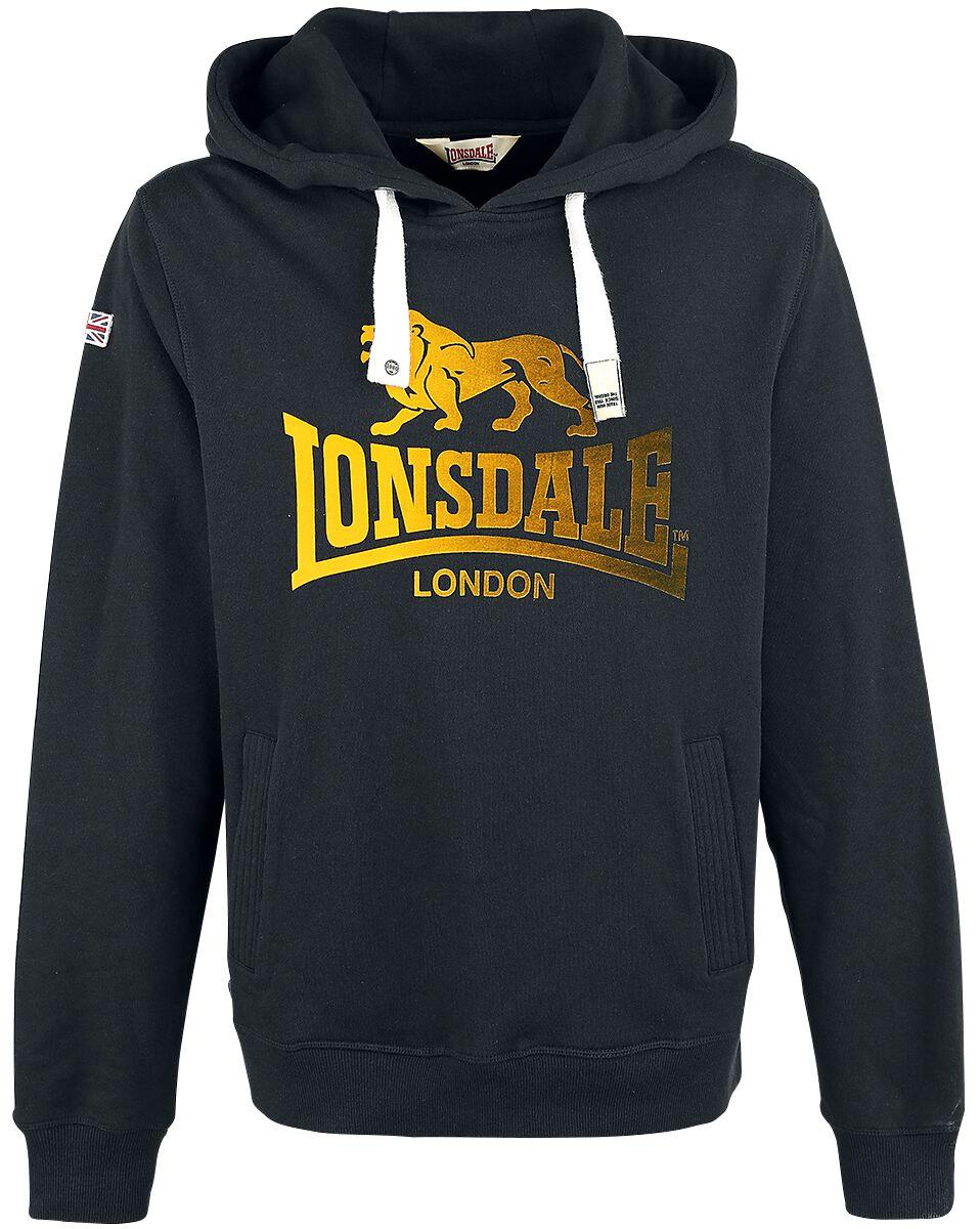 Marki - Bluzy z kapturem - Bluza z kapturem Lonsdale London Achies Bluza z kapturem czarny - 338239