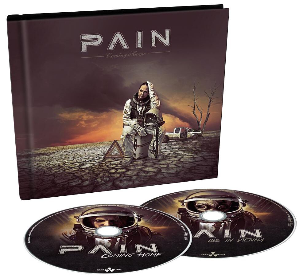 Pain Coming home 2-CD Standard