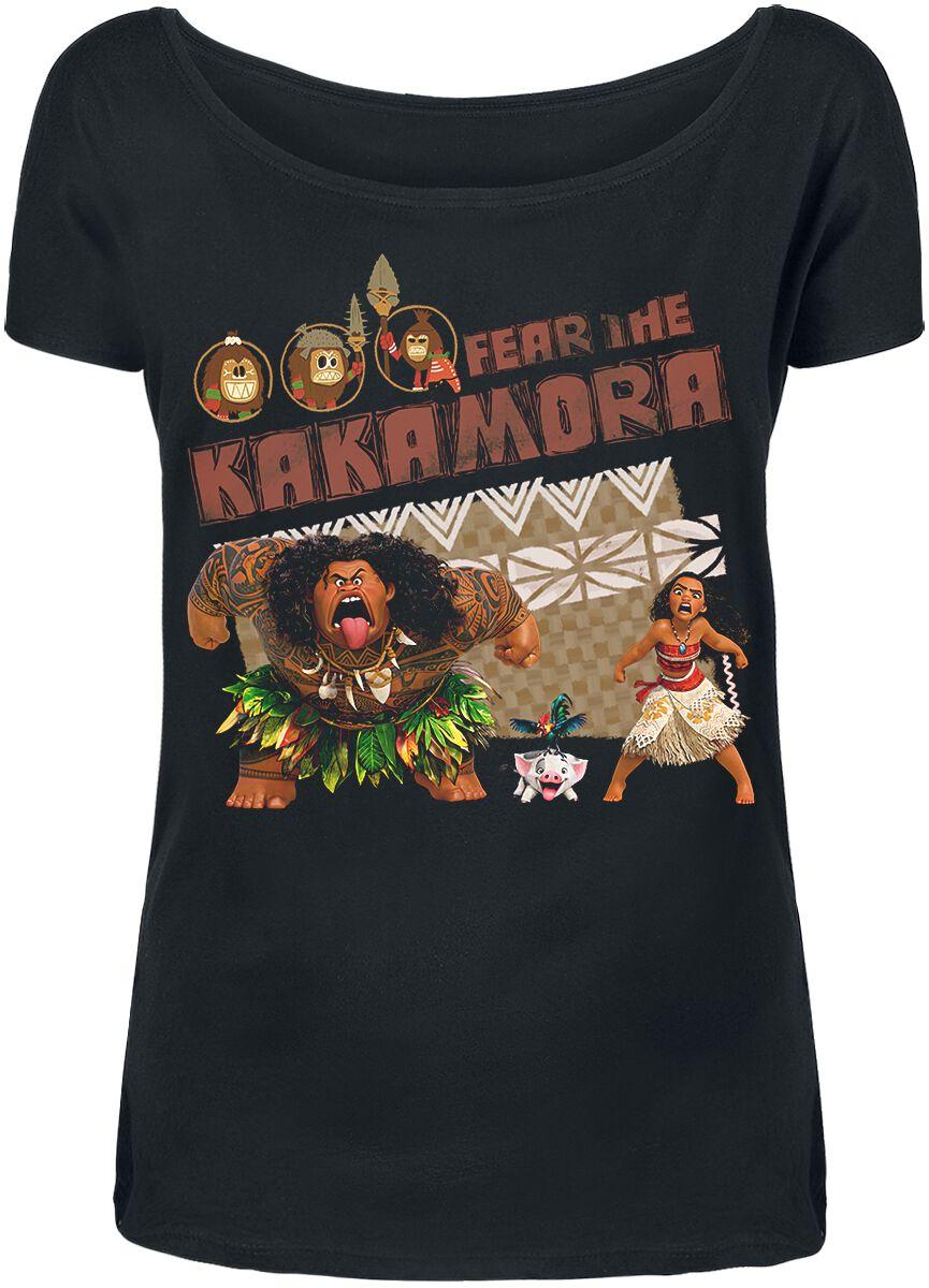 Merch dla Fanów - Koszulki - Koszulka damska Moana Fear The Kakamora Koszulka damska czarny - 338593