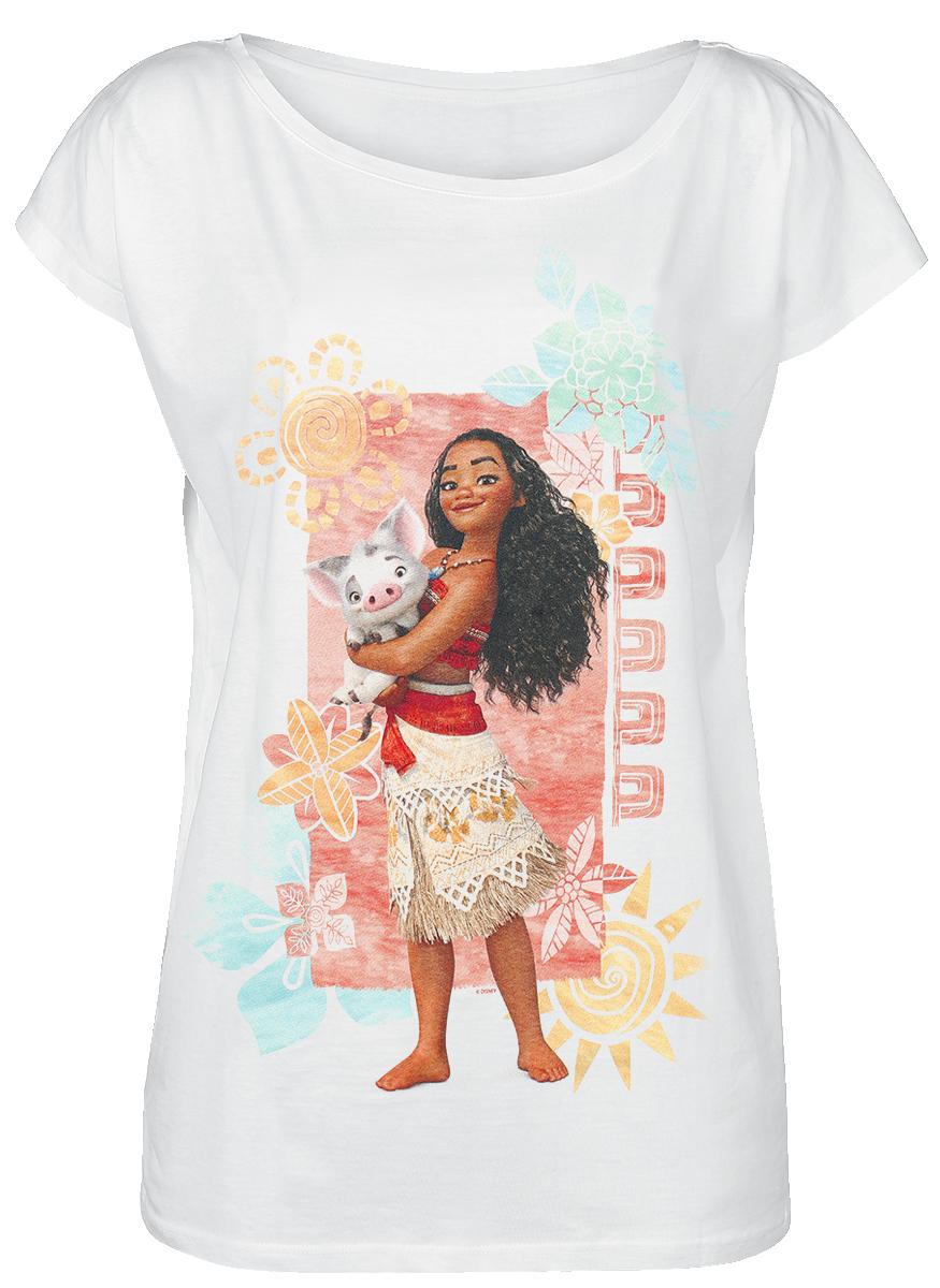 Moana Moana And Pua Koszulka damska biały