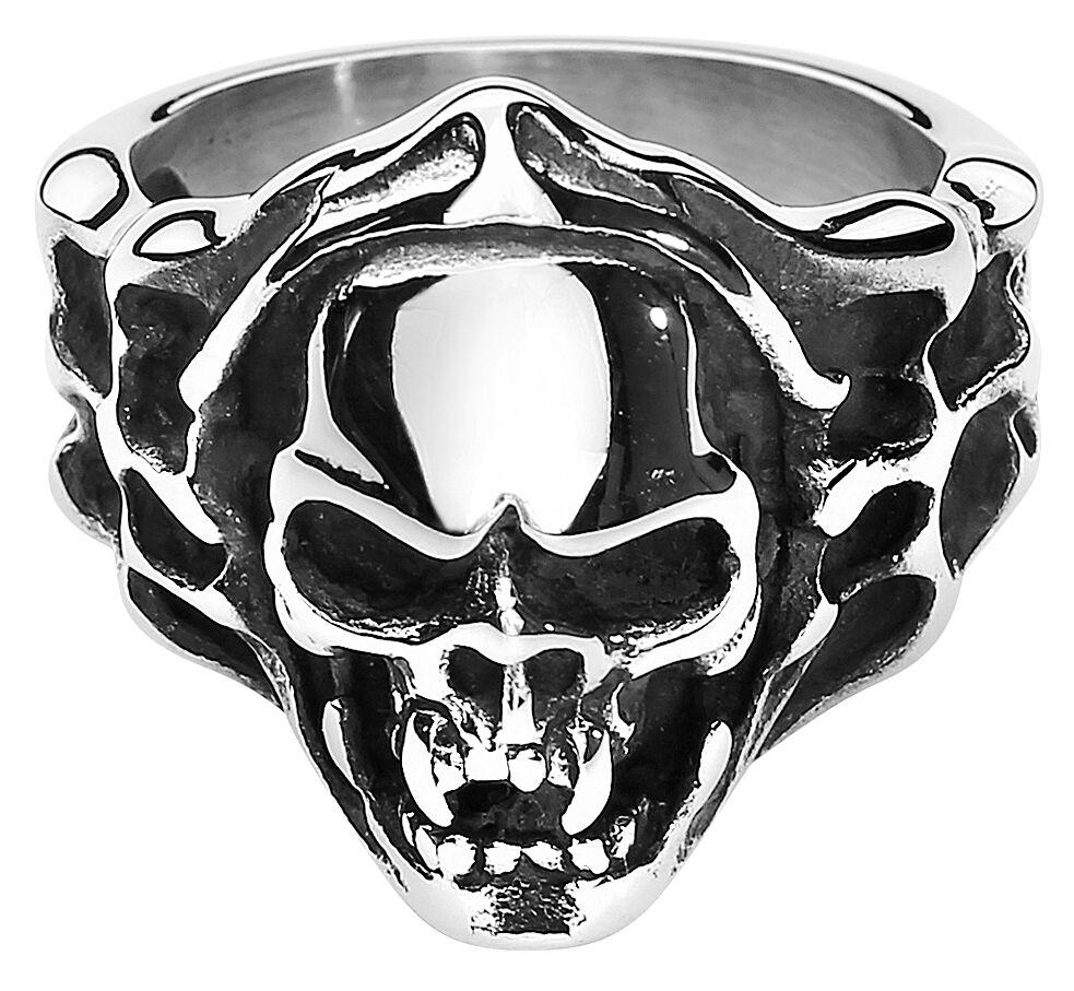Image of   etNox hard and heavy Evil Skull Ring Standard