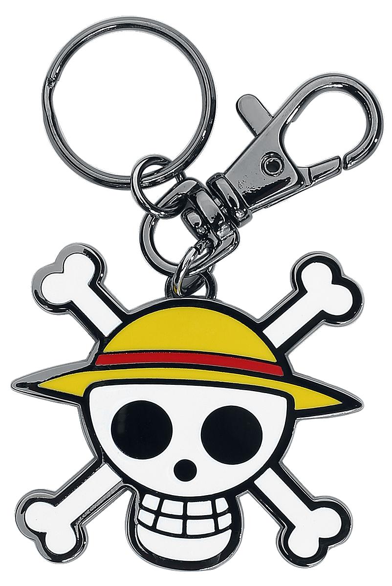 One Piece - Skull - Luffy - Schlüsselanhänger - multicolor