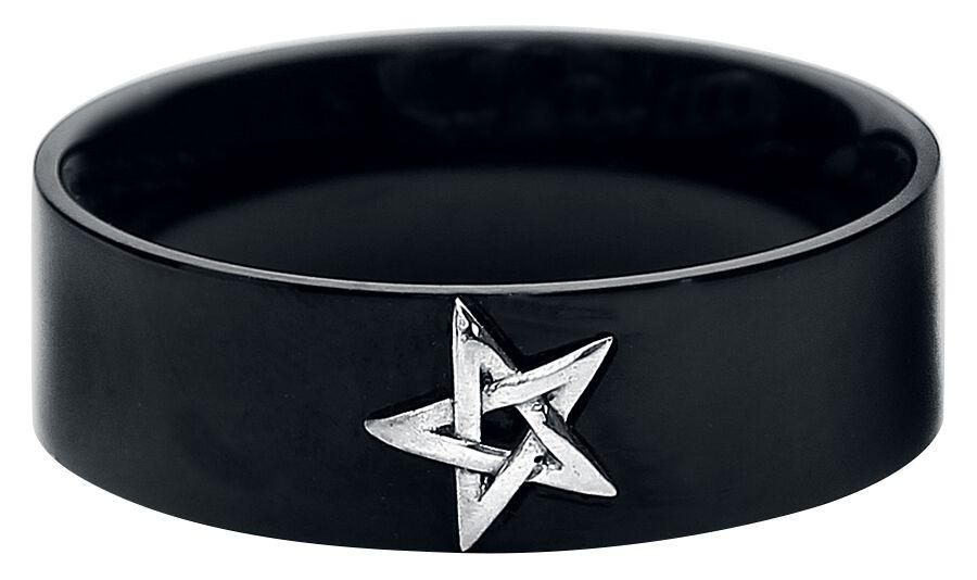 Marki - Pierścienie - Pierścień etNox Little Pentagram Pierścień standard - 338662